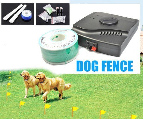 Esky® Waterproof Electronic Fence Dog Shock Collar System