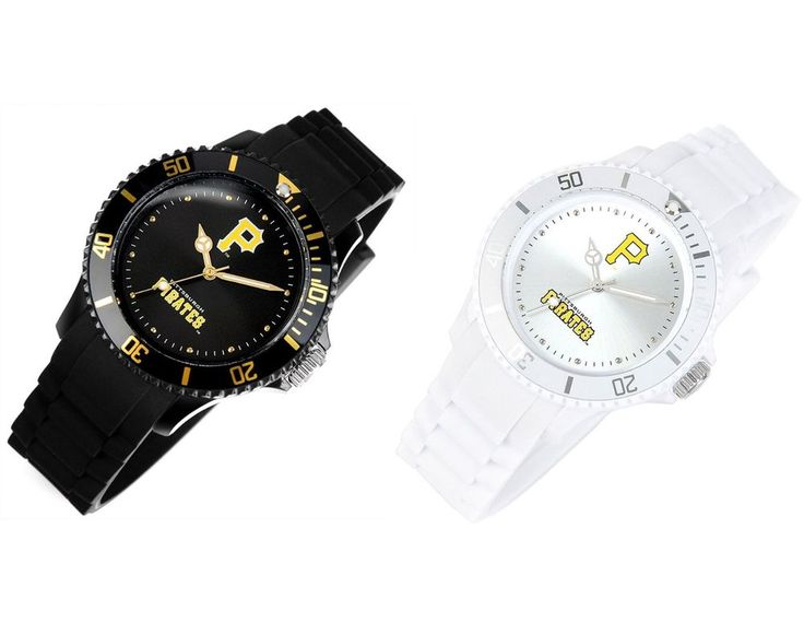 MLB303 Series Official Pittsburgh Pirates Unisex Fashion Wrist Watch_2 options #MLB #PittsburghPirates