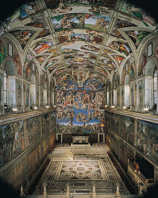 Vatican City. The Sistine Chapel
