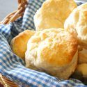 This recipe for Cracker Barrel's Buttermilk Biscuits uses already made biscuit/pancake mix as a shortcut to making these yummy gems.