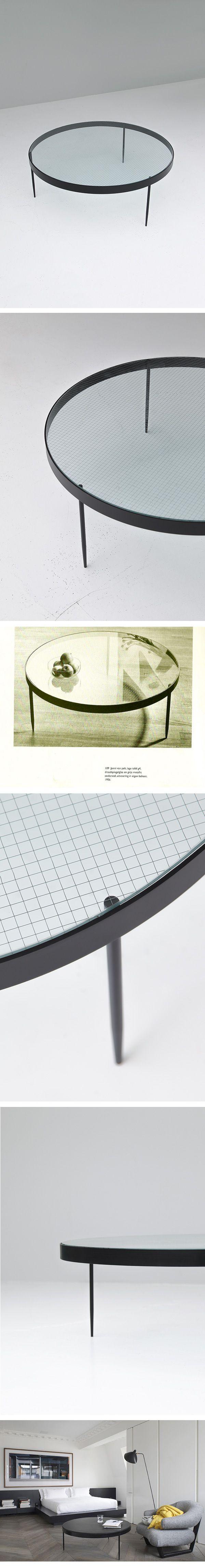 Jannie Van Pelt, coffee table, 1950s, modernist, dutch, design