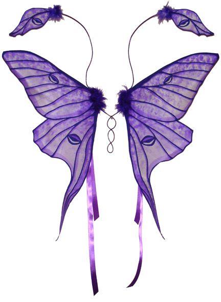 faeLuna Moth, Fairies Wings, Purple Fairies, Faeries Wings, Purple Wings, Wings Templates, Fairy Wings, Purple Luna, Moth Fairies