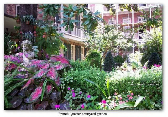 108 best new orleans courtyard images on pinterest for Small french courtyard gardens