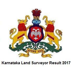 Karnataka Land Surveyor Result 2017, Download Land Surveyor Cut Off, Karnataka Land Surveyor Merit List, Aspirants Download Karnataka Land Surveyor Result