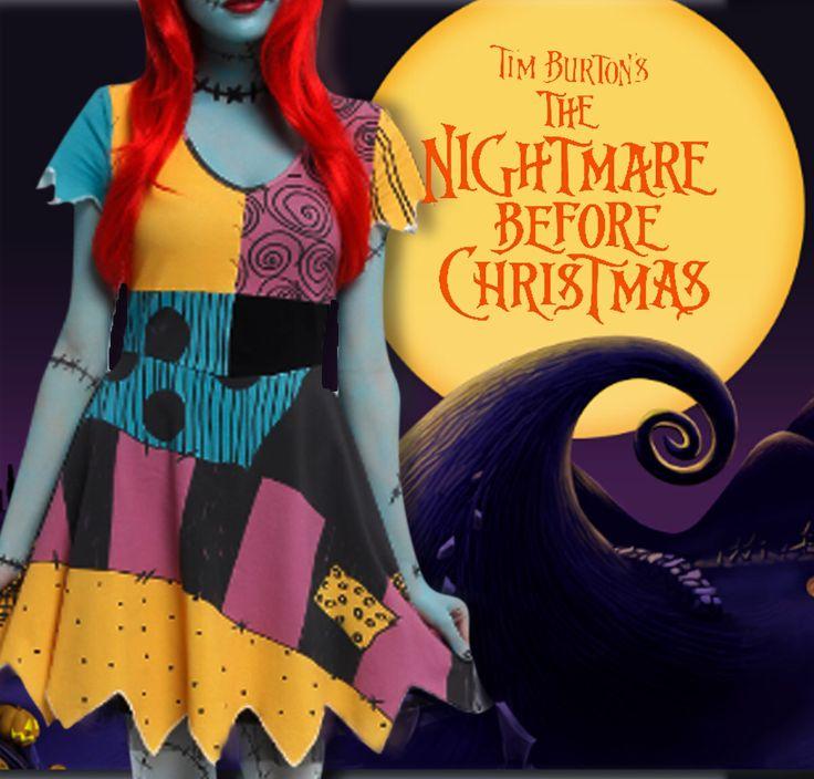 Tim Burton The nightmare before christmas sally  costume dress by VoDoFad on Etsy https://www.etsy.com/listing/466370029/tim-burton-the-nightmare-before