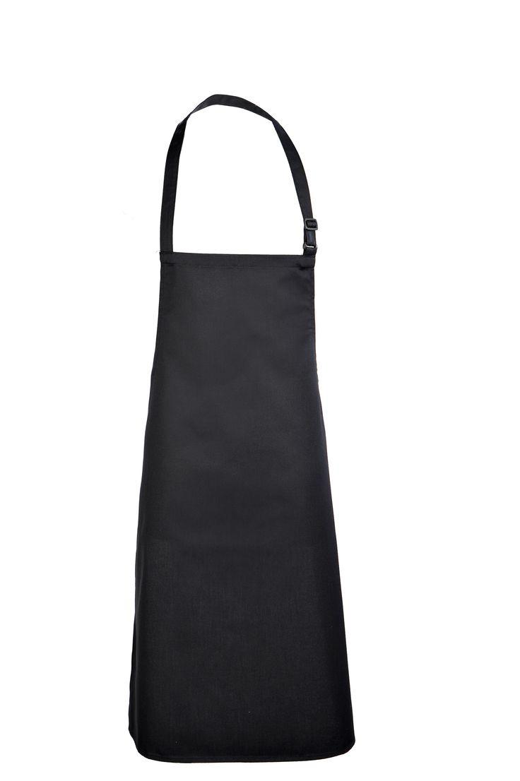 Fartuch czarny. http://kitle.pl/odziez-dla-gastronomii-dla-kucharzy-gastronomiczna/zapaski-fartuchy-kucharskie-gastronimiczne/fartuch-przedni-dla-gastronomii-czarny.html