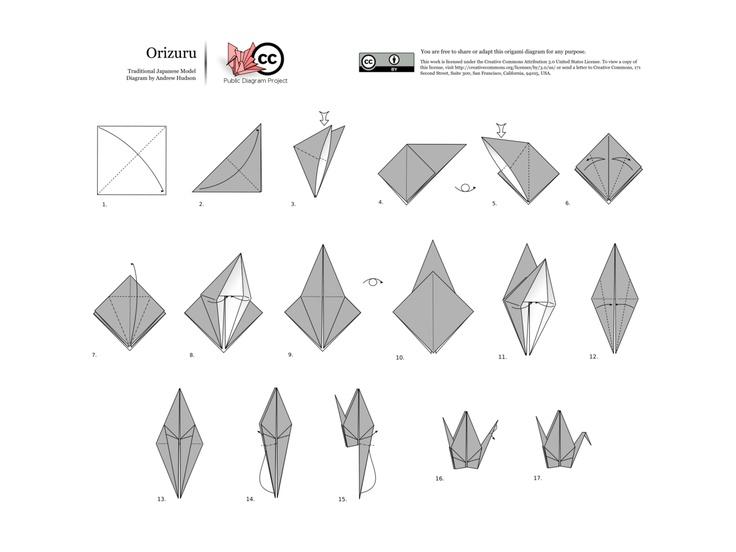 Orizuru paper crane