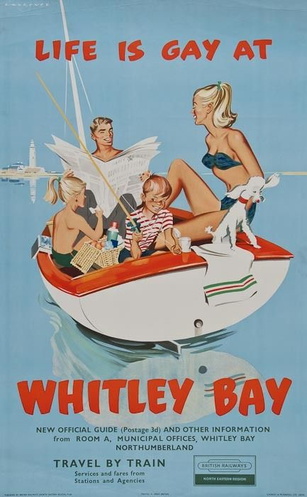 I adore vintage holiday adverts, they bring back fond  childhood memories of lovely family holidays