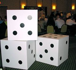 casino theme party decorations google search 21st casino birthday party pinterest white box vegas theme and black dots - Casino Decorations