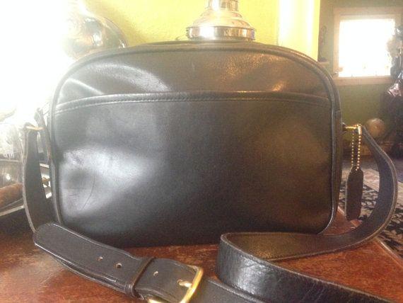 Vintage Coach HandBag...Leather Purse No. O1O 8049 by SwampandRoll
