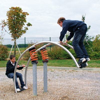 Our favourite See-saw - goes higher than you think!