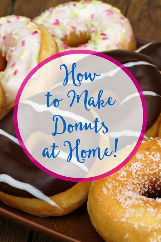 how to make easy donuts from scratch