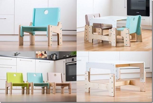 Rostoucí židle a stůl mimimo. Pro děti již od 6 měsíců... #RostouciNabytek #nabytek #deti #zidle #DetskyNabytek #mimimo #detskypokoj #bydleni #interier #stul