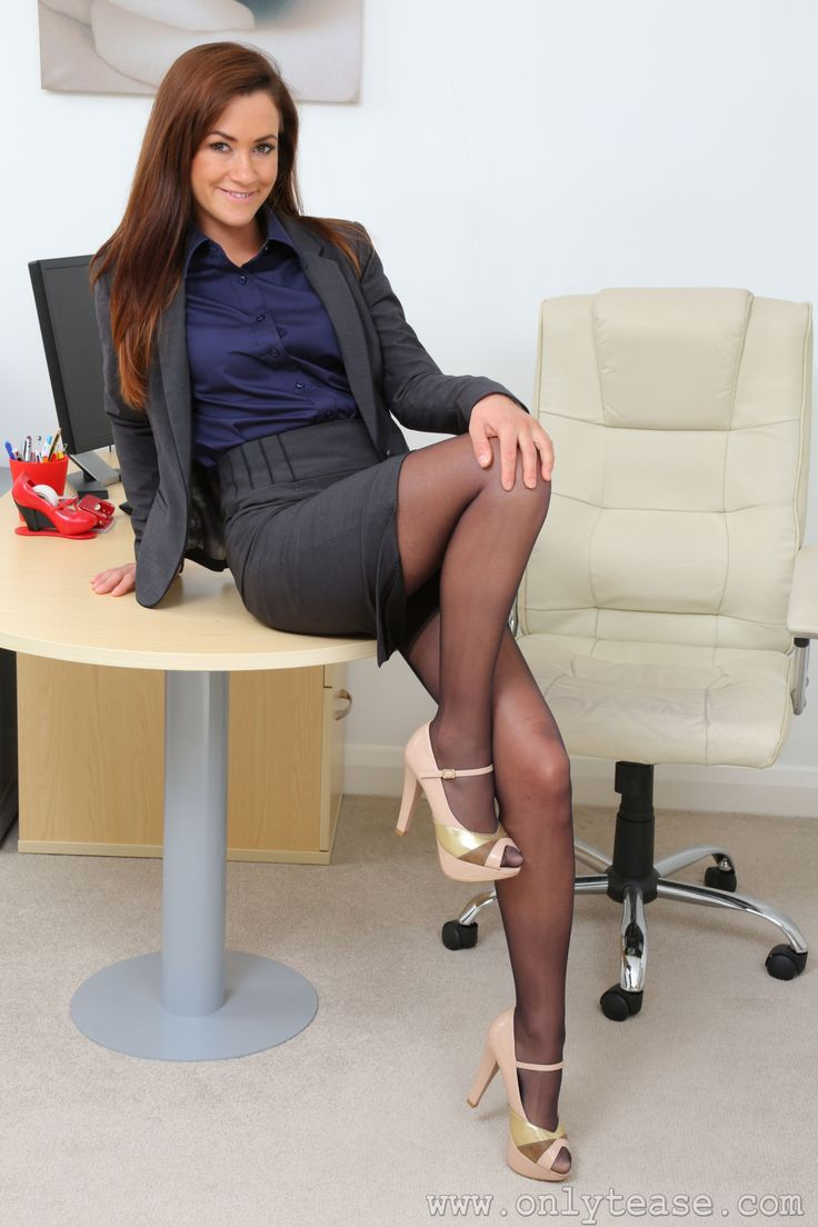 Sexy office dress legs