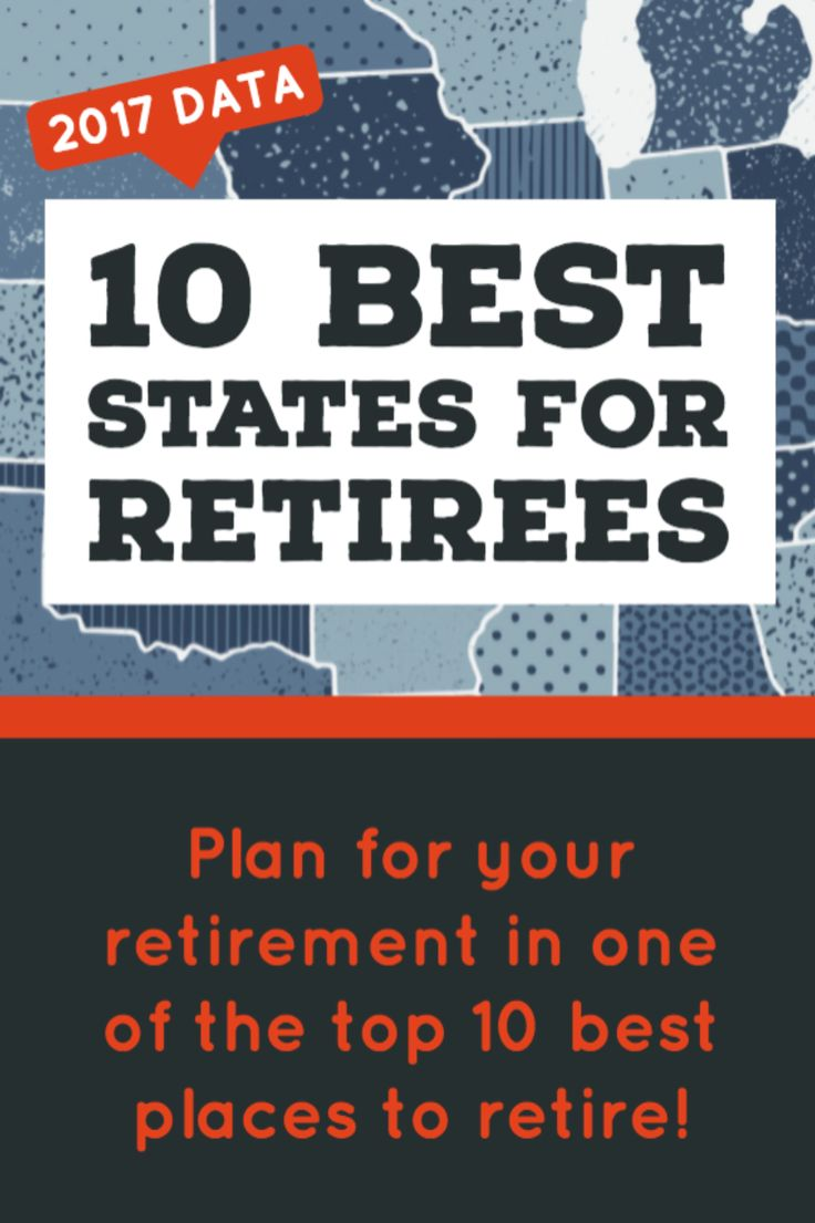Retirement advice: new study ranks the 10 most favorable states for retirees.