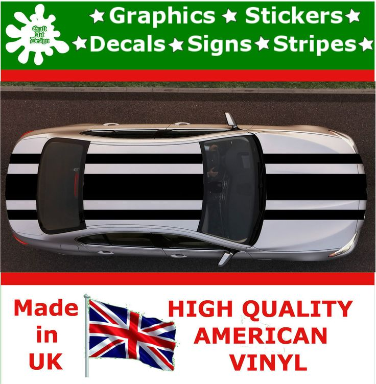 "20"" Sport Racing Stripes Stickers Decal Art Car Auto Rally Graphics Sign P_3_20 Listed for charity"