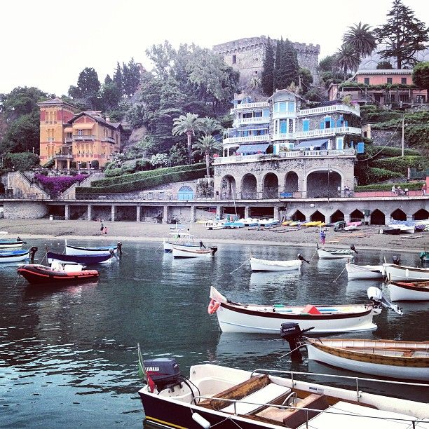Levanto, Italy, gateway to the Cinque Terre.