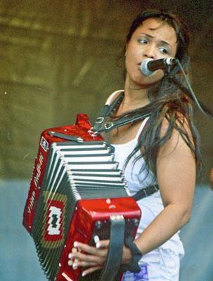 Zydeco accordionist - Rosie Ledet - listen to creole Louisiana Music!