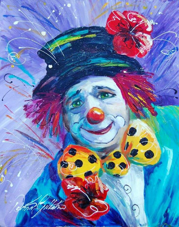 Открытки с клоуном, днем рождения молодому