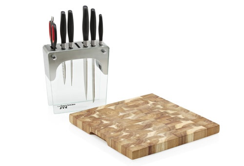 Stainless Steel Knife Block Set with FREE Acacia Chopping Board  Great value and exceptional quality guaranteed    $199 save $279  You'll be hard pressed to find a better value knife bundle of this quality.   with six purpose-designed professional quality tools  never need to buy another knife  Stainless Steel Knife Block Set with FREE Acacia Chopping Board is valued at $478  Christmas Sale on NOW  1 November to 31 December 2012…