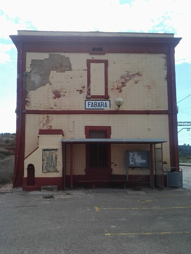 Estación de Fabara, Huesca