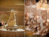 wedding cake, chairs decoration