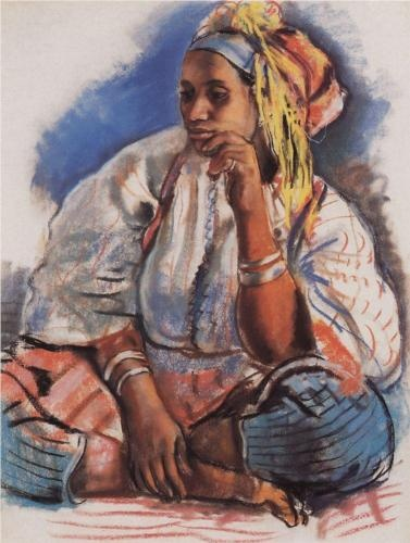 Moor  - Zinaida Serebriakova. Are You Holiday Gift Ready? http://www.islandheat.com for Great Gift Idea's for the whole family.
