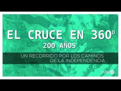 En el «Año del Bicentenario del Cruce de Los Andes y de la Gesta Libertadora Sanmartiniana», la Dirección Nacional de Innovación Educativa del Ministerio de Educación de la Nación desarrolló un recorrido virtual por los lugares que transitaron San Martín y su ejército hace 200 años