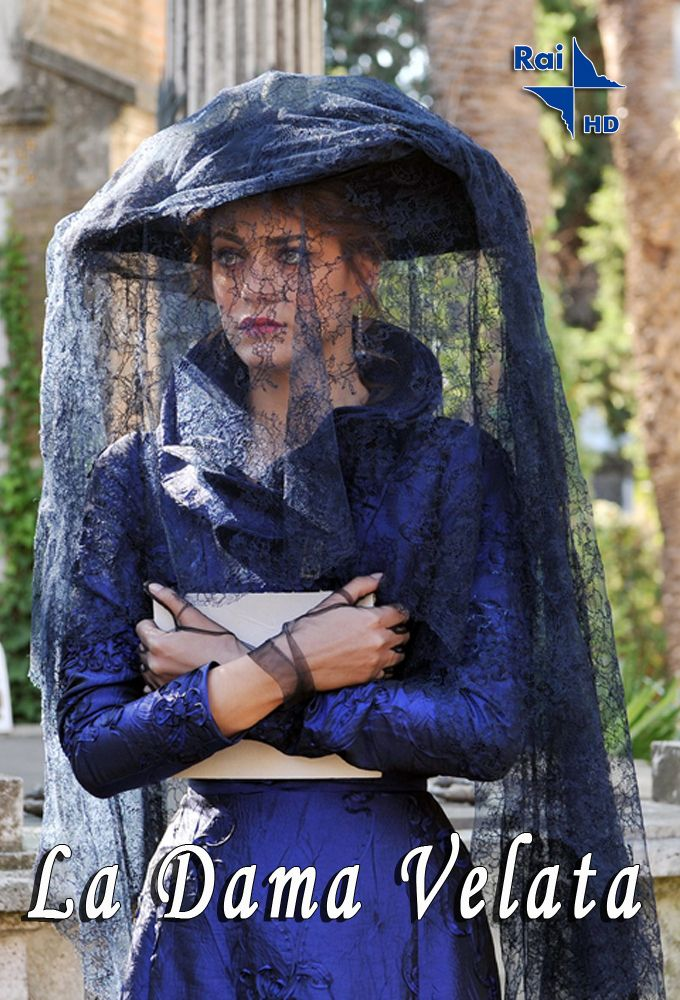 """""""Dama w czarnym welonie"""" = """"The Lady with the Black Veil"""" = """"La Dama Velata"""". Lino Guanciale & Miriam Leone"""