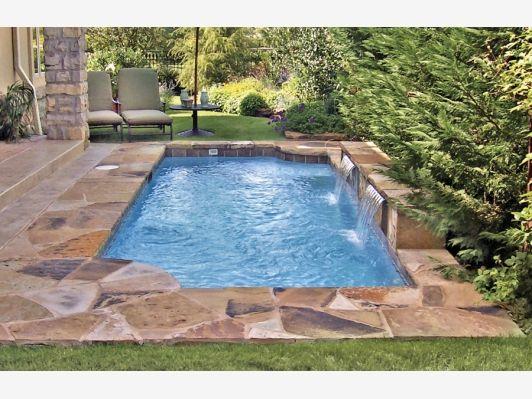 Roman grecian pool home and garden design idea 39 s for Pool yard designs