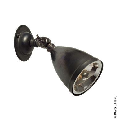 Spot avec réflecteur - ampoule fournie, Bronze vieilli 2420