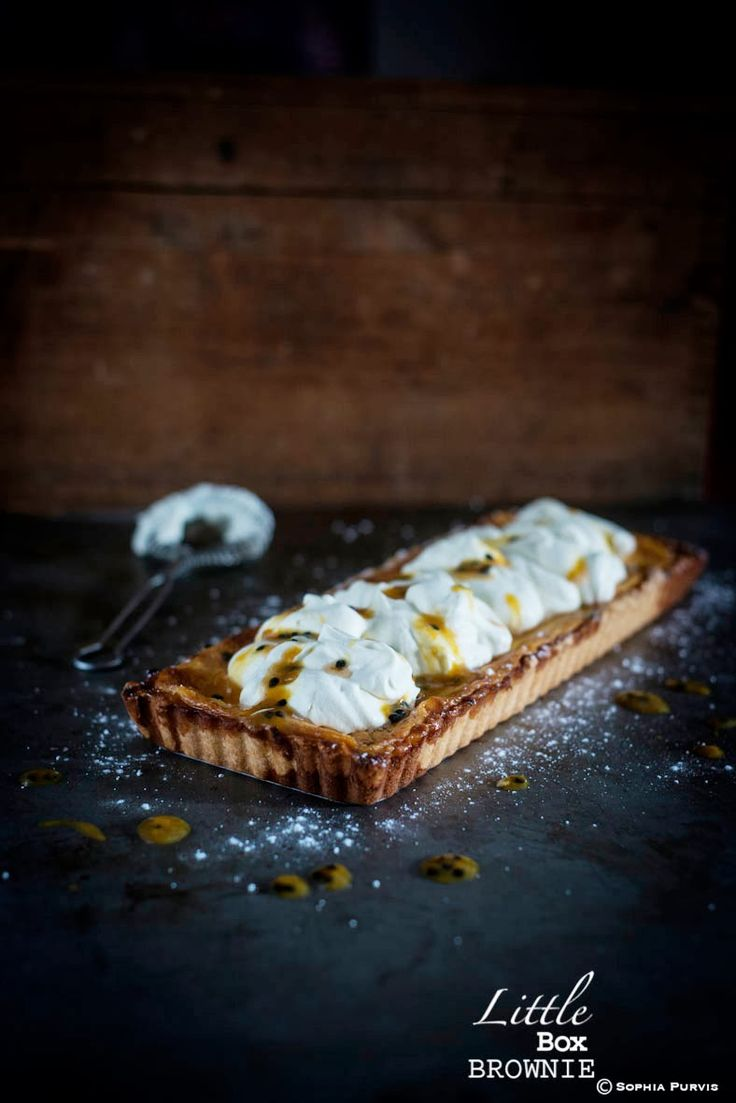 Passion Fruit Tart | Little Box Brownie