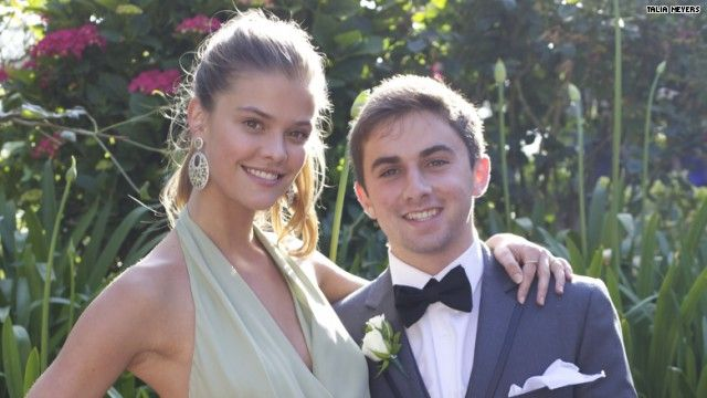 It's a ritual familiar to teens all over: the pre-prom checklist. Rent   tuxedo? Check. Secure a stretch limo? Check. Ask a hot swimsuit supermodel to   accompany you to prom, and after she bails ...