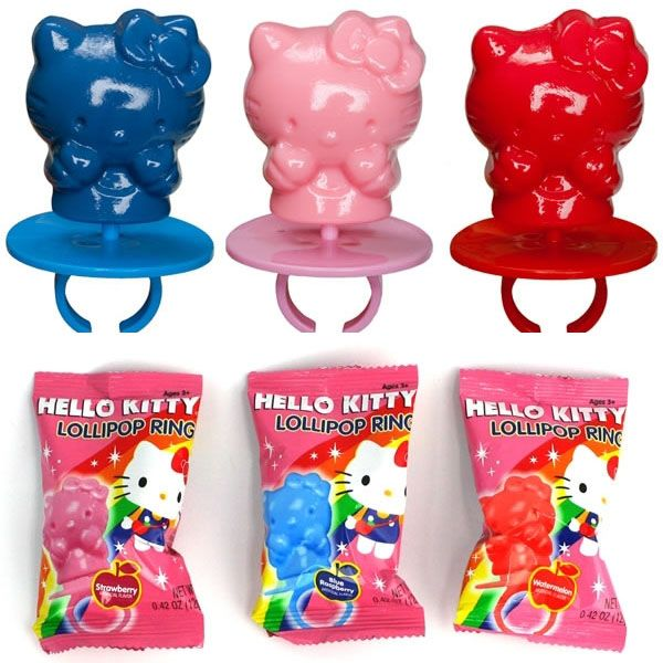 Hello Kitty Ring Pop, aren't these just the cutest?!