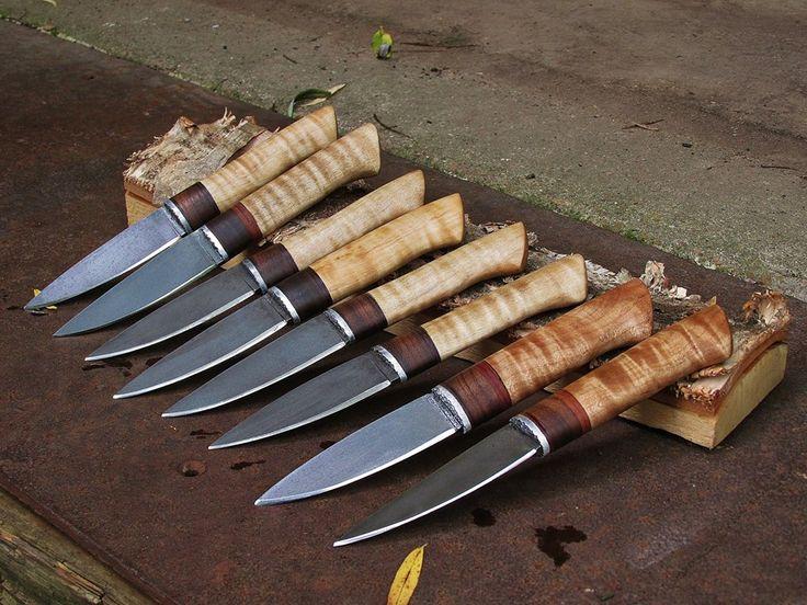 Bushcraft knife sheath patterns | Wilderness Bushcraft Knives in Bladesmithing/Knifemaking Forum