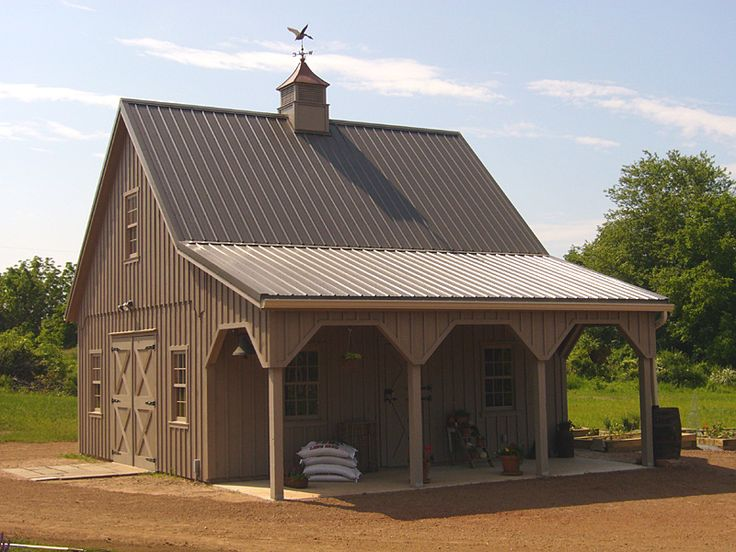 25 best ideas about pole barns on pinterest pole barn for Small metal barns