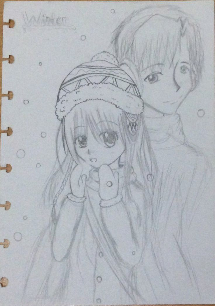 Winter by MinakoMina on @DeviantArt