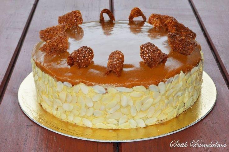 SÜTIK BIRODALMA: Karamelltorta / Caramel cake