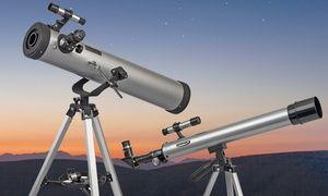 Groupon-Gutschein - Spiegel-Teleskop in Silber oder Schwarz (bis zu 93% sparen*). Groupon-Deal-Preis: 59,99€