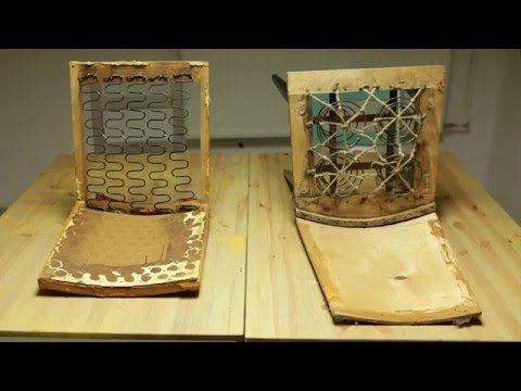 #owoceszycia Tapicerowanie  #1 Recykling krzeseł ze śmietnika - demontaż | Trash-chai...