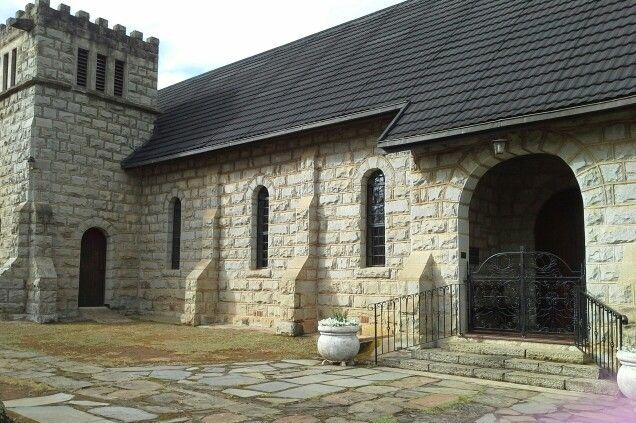 A little church in Himeville, Kwa Zulu Natal.