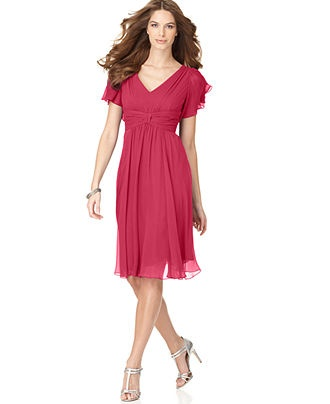 mom of bride dress... dress this up with some jewelry... nice for outside summer wedding