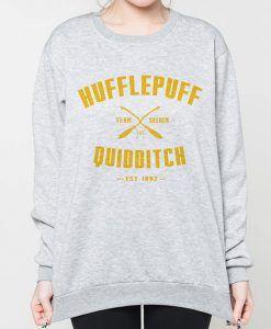 Hufflepuff Quidditch Harry Potter Sweatshirts Unisex size, Unisex Sweatshirts
