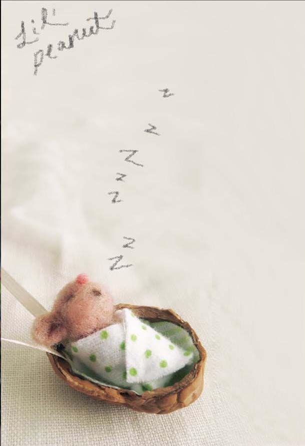 baby mouse. cozy walnut.