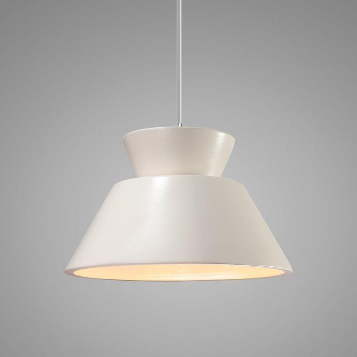 Perth 1 Light Single Geometric Cone Led Pendant Antique Light Bulbs Light Light Bulb Types