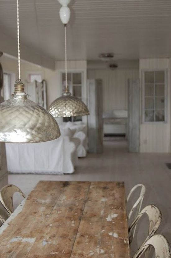 Modern Country Style: Get The Look: Softly White Interiors