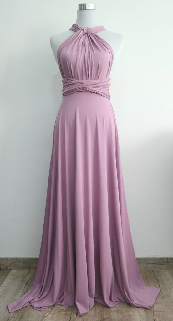 Chiffon Multi-Way Bridesmaid Dress – fashion dresses