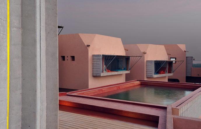 Dar Hi Hotel - Architecture