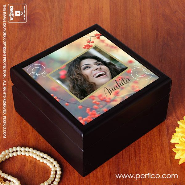 Picture Perfect © Personalized Jewellery Box