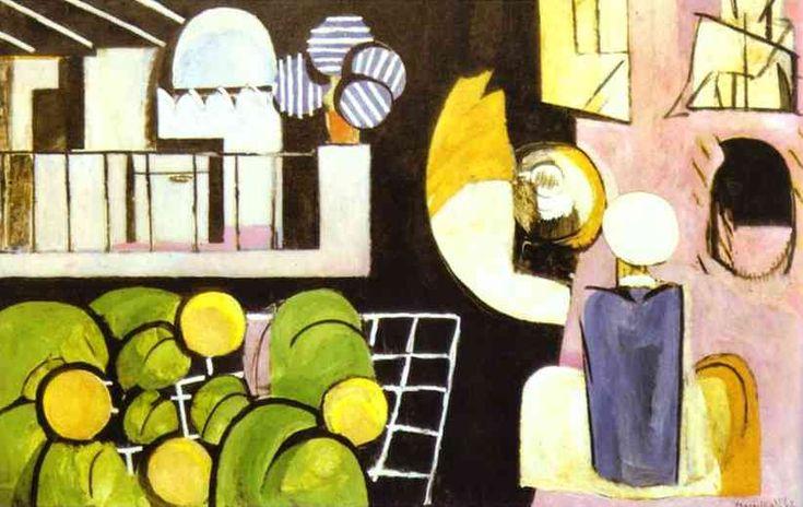 La marocchini, oliio di Henri Matisse (1869-1954, France)